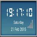 MetalGlass DigitalClock Widget icon