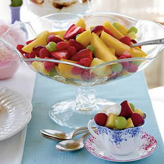 Fruit Salad with Yogurt.