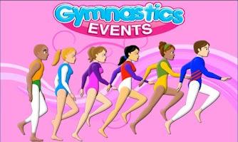 Screenshot of Gymnastics Events