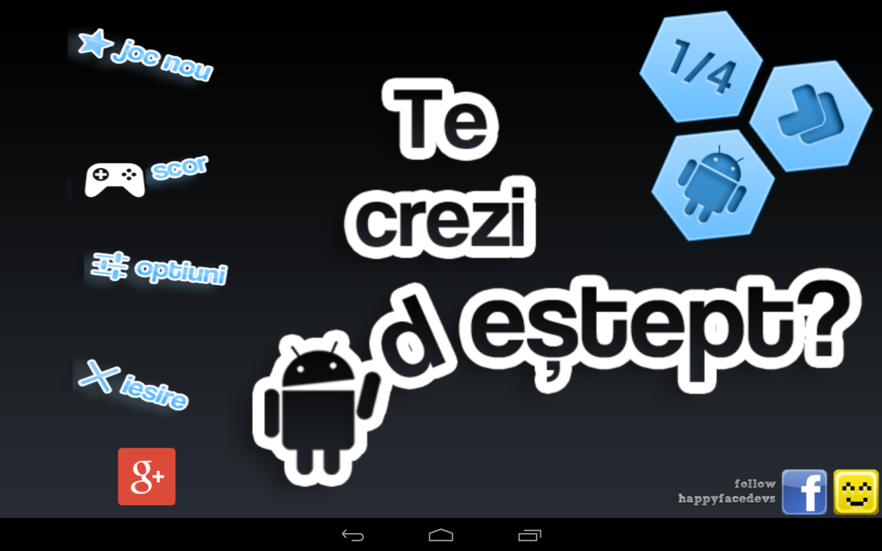 Te crezi destept? - screenshot