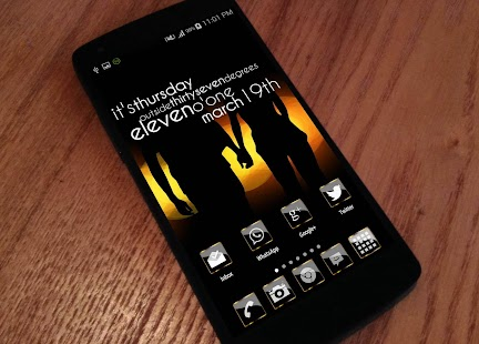 Golden Glass Icon Pack HD Apk