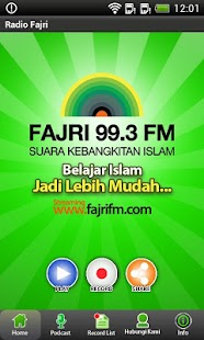 Fajri FM Radio Streaming - screenshot thumbnail