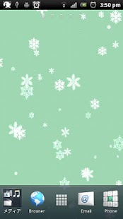 Snowflake Live Wallpaper FREE - screenshot thumbnail