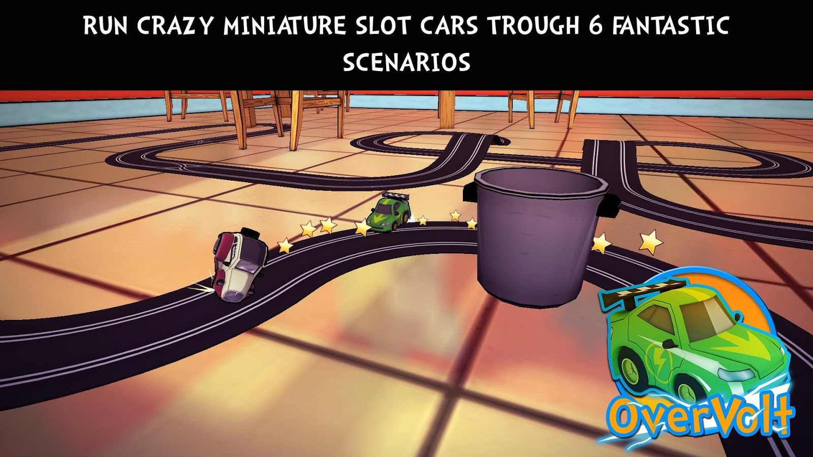 OverVolt: crazy slot cars- screenshot