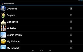 Screenshot of Whisky Companion