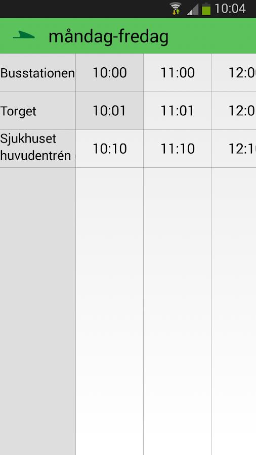 Värmlandstrafik - screenshot