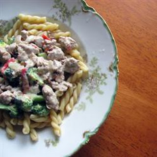 Sausage-Broccoli Pasta.