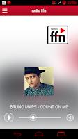 Screenshot of radio ffn