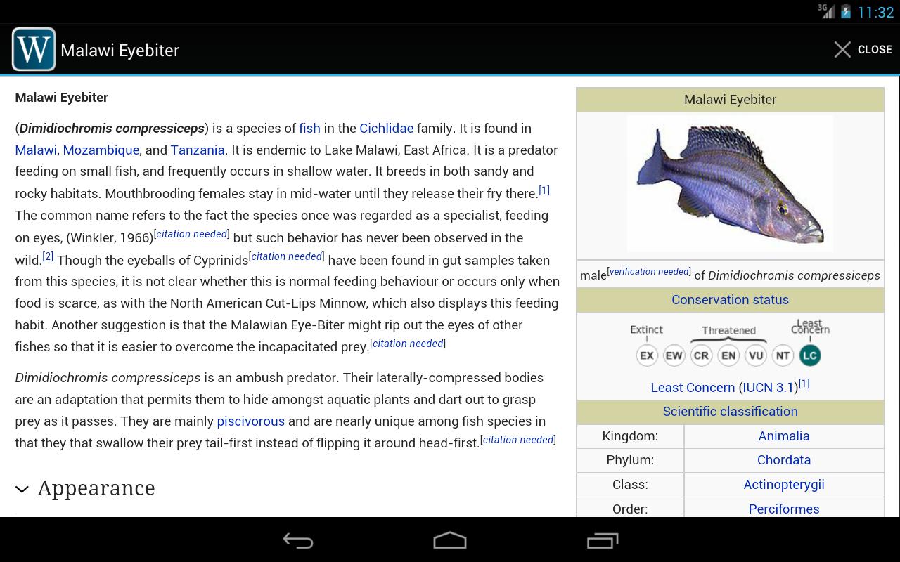 WikiFlow Free - screenshot
