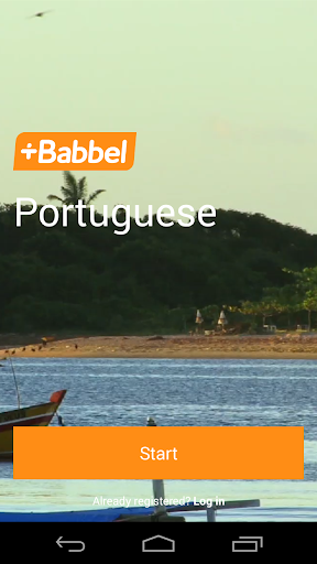 Learn Portuguese with Babbel
