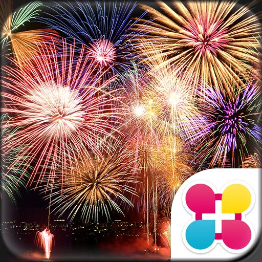 Beautiful Wallpaper Fireworks Icon