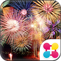 Beautiful Wallpaper Fireworks icon