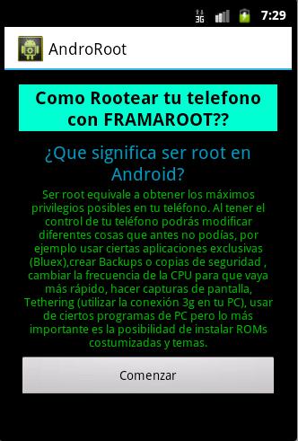 Rootea tu AndroidPhone