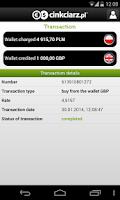 Screenshot of Cinkciarz.pl