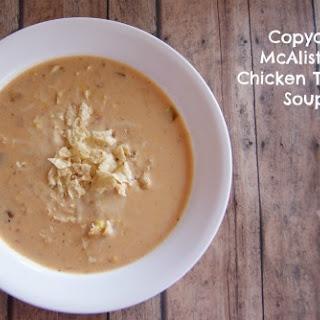 Copycat McAlister's Chicken Tortilla Soup