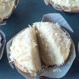 Brazilian Style Coconut Truffle Cupcakes