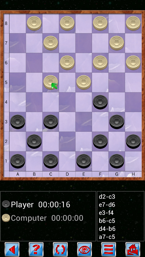 Checkers V+- screenshot