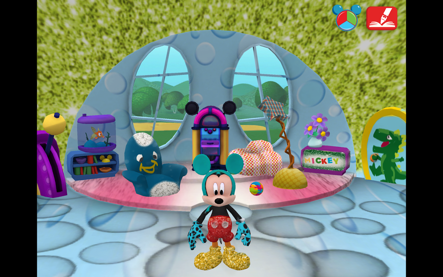 Mickey's Color and Play!- screenshot