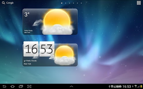 Premium Widgets HD - screenshot thumbnail