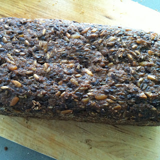 My Danish-inspired Rye Sourdough Bread.