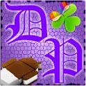 GOWidget DeepPurple ICS – Free logo