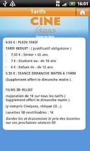 Ciné Léman et Cinéma - screenshot thumbnail