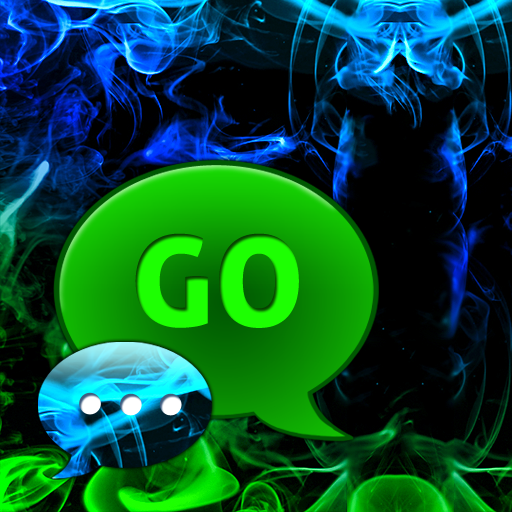 GO SMS Pro Green Smoke Buy LOGO-APP點子