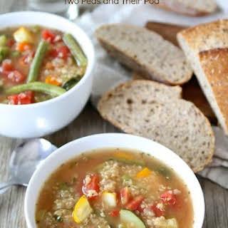 Vegetable Quinoa Soup.
