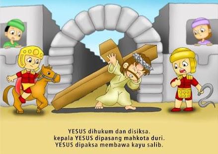 Komik Alkitab : Tuhan Yesus