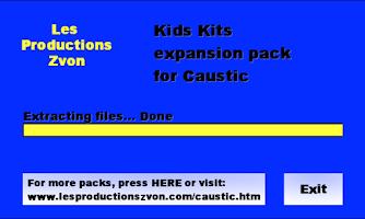 Screenshot of Kids Kits for Caustic 2