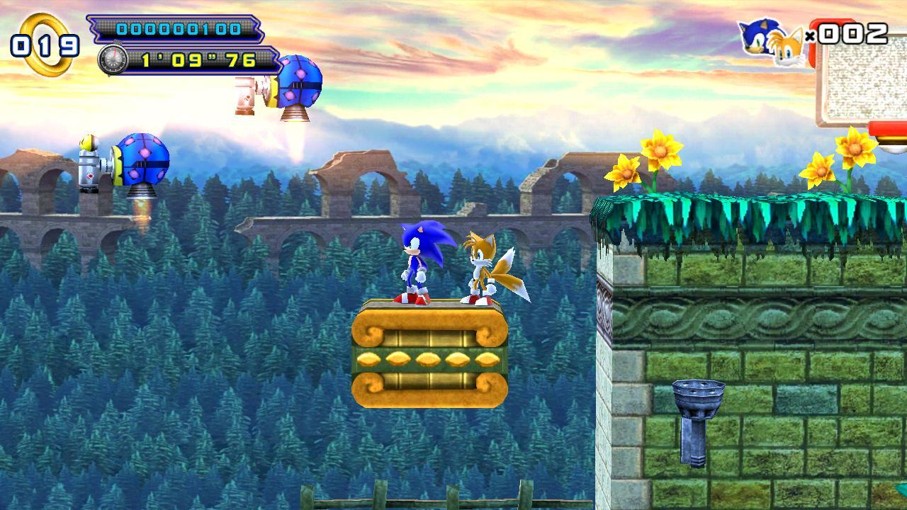 Sonic 4 Episode II screenshot #1