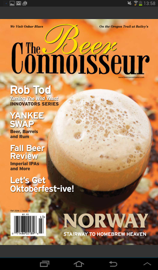 The Beer Connoisseur Magazine- screenshot