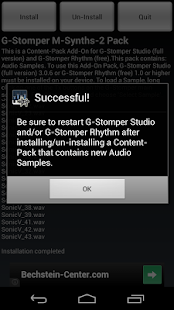 G-Stomper Mobile-Synths-2 Pack - screenshot thumbnail