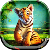 Little Tiger Live Wallpaper