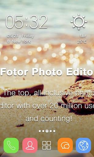 Fotor Photo Editor主题Solo桌面