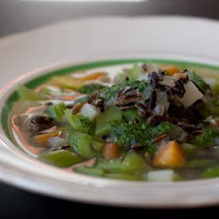 Chunky Celery Soup.