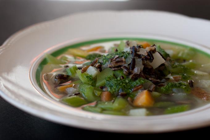 Chunky Celery Soup Recipe
