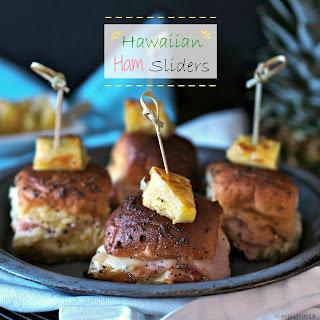 Hawaiian Ham Sliders.