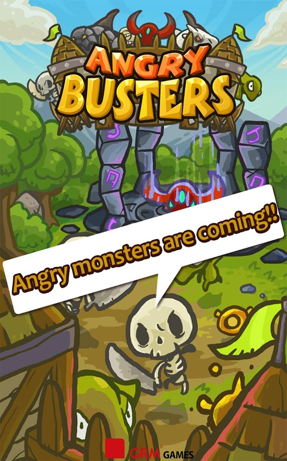 Angry Busters- screenshot