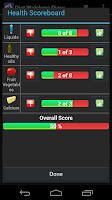Screenshot of Diet Watchers Diary