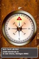 Screenshot of Compass & Map