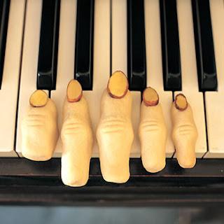 Finger Cookies.