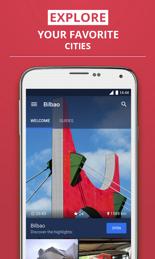 Bilbao/Bilbo Travel Guide- screenshot
