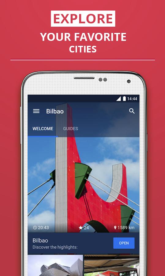 Bilbao/Bilbo Travel Guide - screenshot