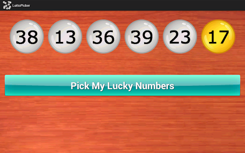 Lottery Number Picker- screenshot thumbnail