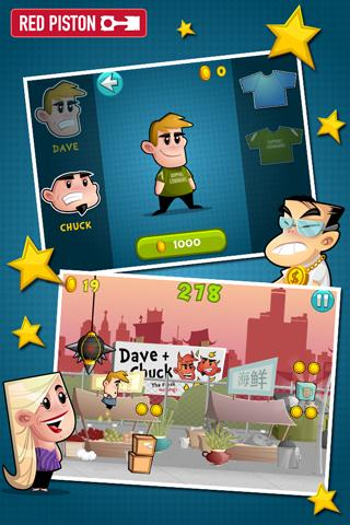 Dave & Chuck's Kick-Ass Game - screenshot