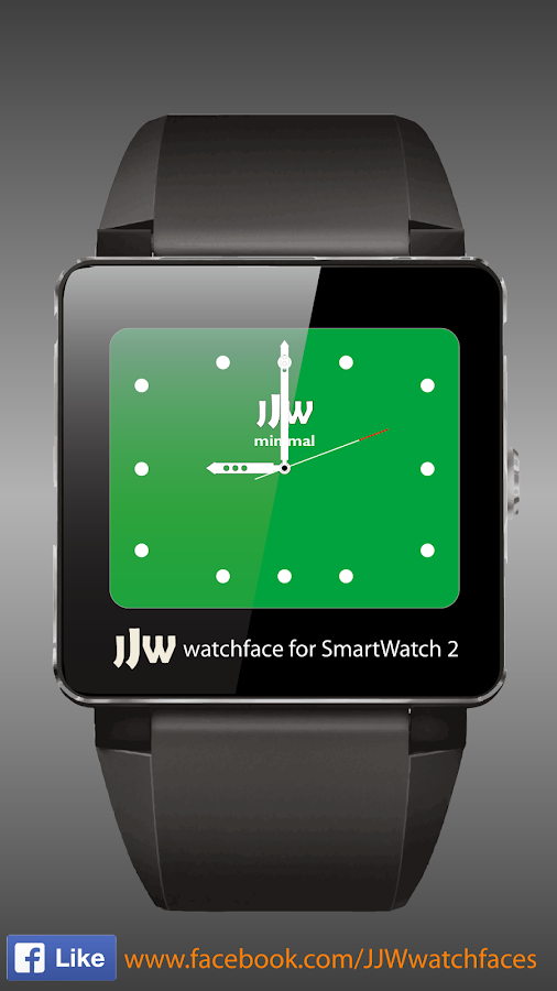 JJW Minimal Watchface 4 SW2- screenshot