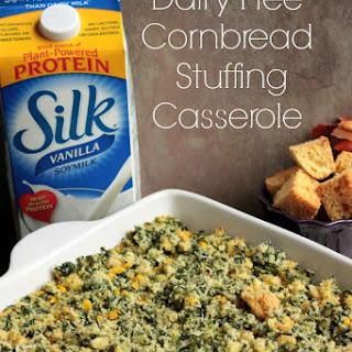 Dairy Free Cornbread Stuffing Casserole