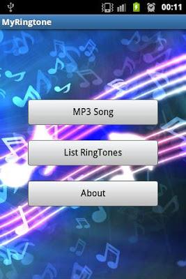 MyRingTone - screenshot