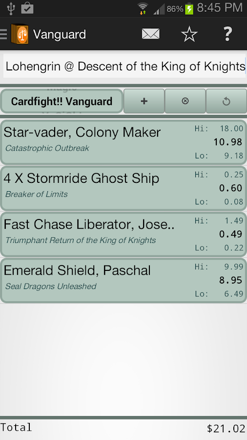 CCG Fair Trader- screenshot